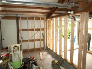 framing out the workshop