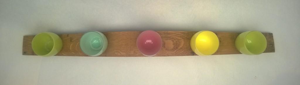 wine barrel glassybaby holder