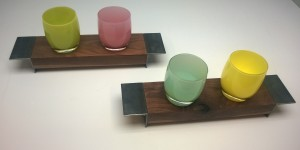 Two double glassybaby holders