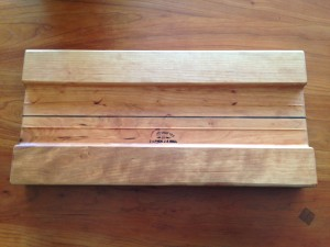 Cherry Cheese Board - underside