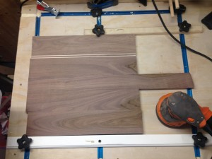 pizza peel post glue up